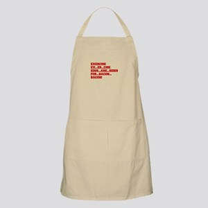 EXERCISE-BACON-FRESH-RED Apron