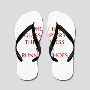 FORGET-THE-GLASS-SLIPPERS-OPT-RED Flip Flops