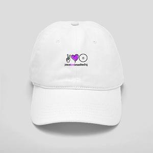 Peace, Love & BF(Purple) Cap