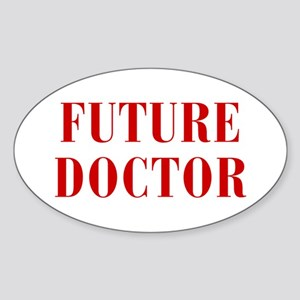 FUTURE-DOCTOR-BOD-RED Sticker