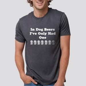 Dog beers on dark T-Shirt