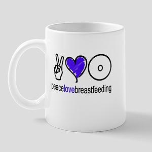 Peace, Love & BF(Blue) Mug