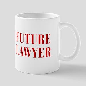 FUTURE-LAWYER-BOD-RED Mugs