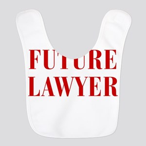 FUTURE-LAWYER-BOD-RED Bib