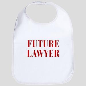 FUTURE-LAWYER-BOD-RED Bib
