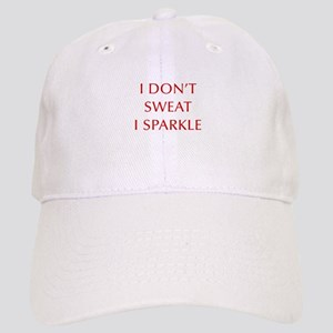 I-DONT-SWEAT-I-SPARKLE-OPT-RED Baseball Cap