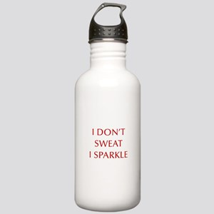 I-DONT-SWEAT-I-SPARKLE-OPT-RED Water Bottle