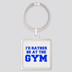 ID-RATHER-BE-AT-THE-GYM-FRESH-BLUE Keychains