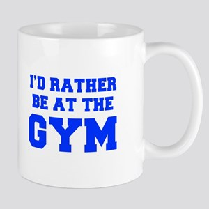 ID-RATHER-BE-AT-THE-GYM-FRESH-BLUE Mugs