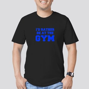 ID-RATHER-BE-AT-THE-GYM-FRESH-BLUE T-Shirt