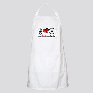 Peace, Love & Breastfeeding  BBQ Apron