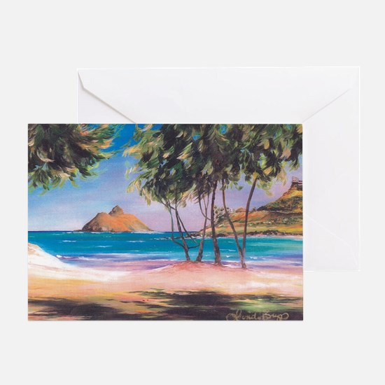 Kailua Beach Greeting Card