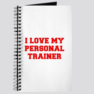 I-LOVE-MY-PERSONAL-TRAINER-FRESH-RED Journal