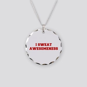 I-SWEAT-AWESOMENESS-FRESH-RED Necklace