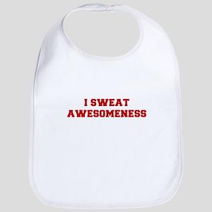 I-SWEAT-AWESOMENESS-FRESH-RED Bib