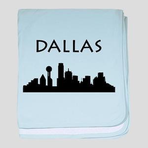 Dallas baby blanket