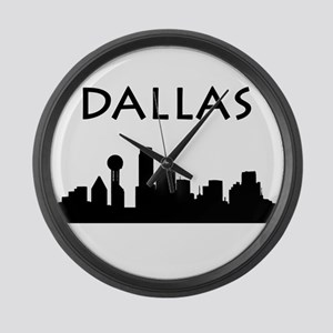 Dallas Large Wall Clock