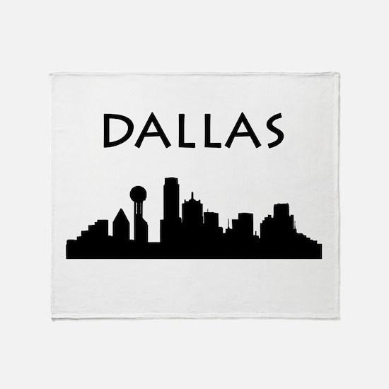 Dallas Throw Blanket
