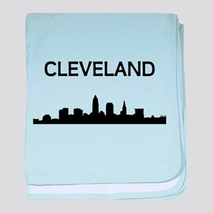 Cleveland baby blanket