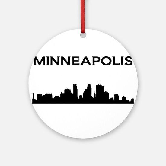 Minneapolis Ornament (Round)