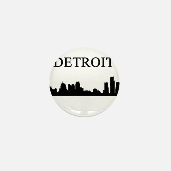 Detroit Mini Button