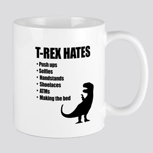 T-Rex Hates Bullet List Mugs