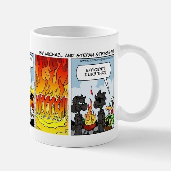 0808 - Hard to kindle Mugs