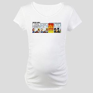 0808 - Hard to kindle Maternity T-Shirt