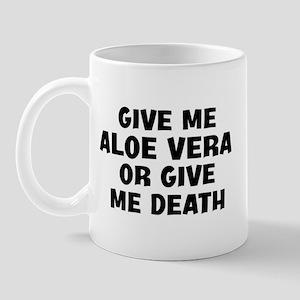 Give me Aloe Vera Mug