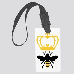 Queen Bee Large Luggage Tag