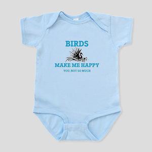 Birds Make Me Happy Body Suit