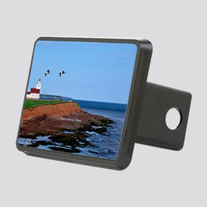 Prince Edward Island Light Rectangular Hitch Cover
