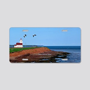 Prince Edward Island Lighth Aluminum License Plate