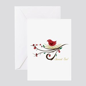 Good Jul Greeting Cards
