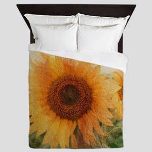 sunflowers Queen Duvet