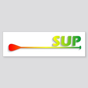 Sup - Rasta Bumper Sticker