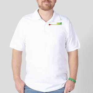 SUP - Rasta Golf Shirt