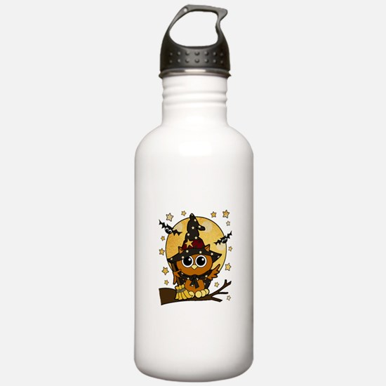Bewitching Owl Water Bottle