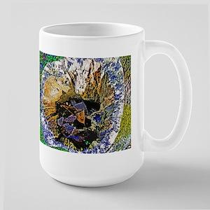 Tree Abstract Silk Screen Mugs