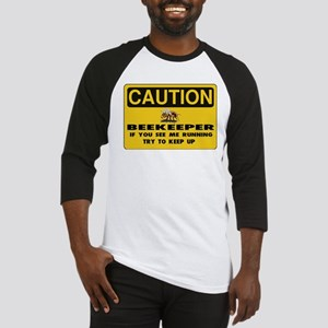 Caution Beekeeper Men Baseball Jersey