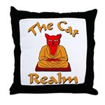 The Cat Realm Throw Pillow