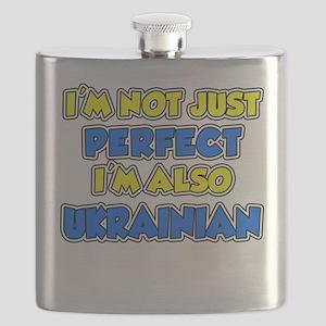 Not Just Perfect Ukrainian Flask