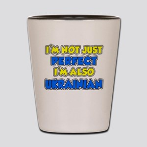 Not Just Perfect Ukrainian Shot Glass