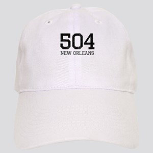 Distressed New Orleans 504 Baseball Cap