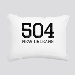 Distressed New Orleans 504 Rectangular Canvas Pill