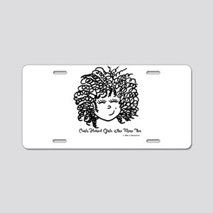 Curly Haired Girls Are More Aluminum License Plate