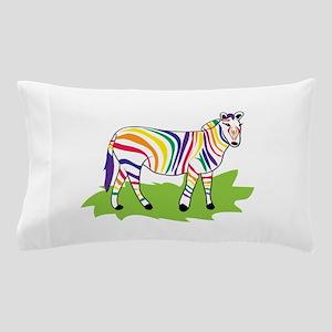 Rainbow Zebra Pillow Case