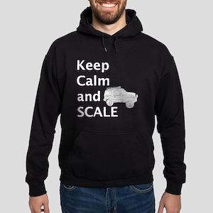 Keep Calm and SCALE Hoodie (dark)