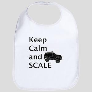Keep Calm and SCALE Bib