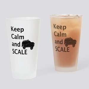 Keep Calm and SCALE Drinking Glass